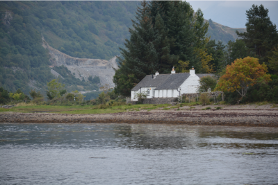 Airds Bay on Loch Etive