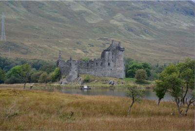 Castle Kilchurn on Loch Awe