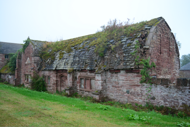 Meigle House steading