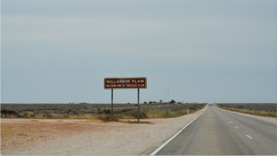 The actual Nullarbor Plain